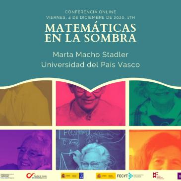 Conferencia online: «Matemáticas en la sombra»