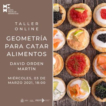 Taller online «Geometría para catar alimentos»