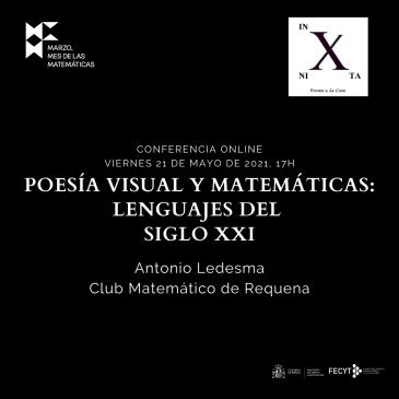 Conferencia online «Poesía visual y matemáticas: lenguajes del siglo XXI»