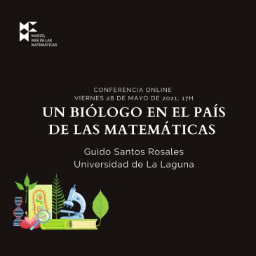 Conferencia online «Un biólogo en el país de las matemáticas»