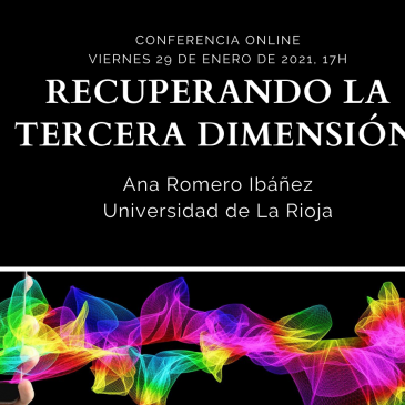 Conferencia online «Recuperando la tercera dimensión»