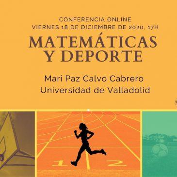 Conferencia online «Matemáticas y Deporte»
