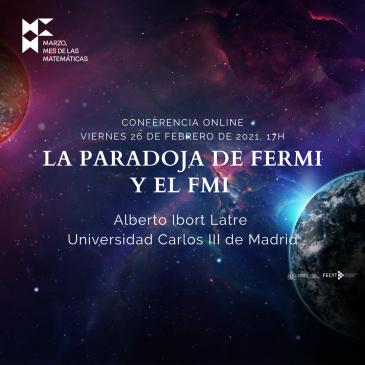 Conferencia online «La paradoja de Fermi y el FMI»
