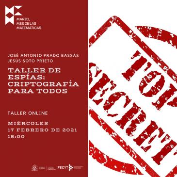 Taller online «Taller de espías»