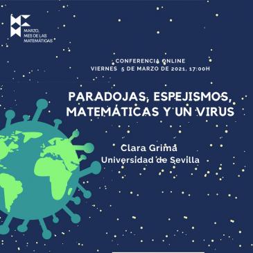 Conferencia online «Paradojas, espejismos, matemáticas y un virus»