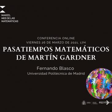 Conferencia online «Pasatiempos matemáticos de Martín Gadner»