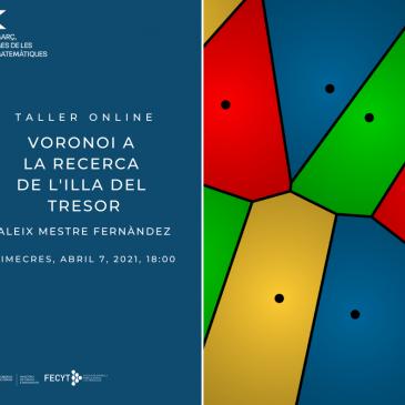 Taller online «Voronoi a la recerca de l'illa del tresor»
