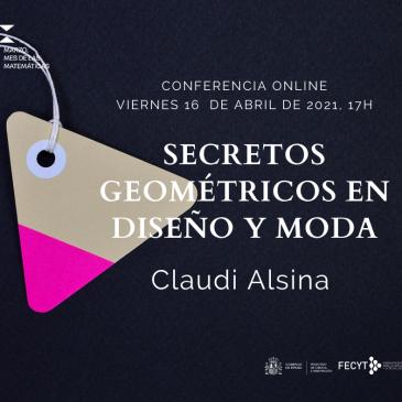Conferencia online «Secretos geométricos en diseño y moda«