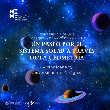 Conferencia online «Un paseo por el sistema solar a través de la geometría»